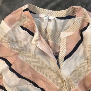 Jack Multicolor button up blouse
